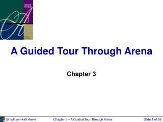 A Guided Tour Through Arena