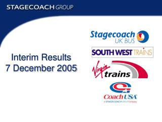 Interim Results 7 December 2005