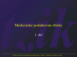 Medicinske podatkovne zbirke
