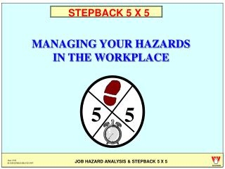 STEPBACK 5 X 5