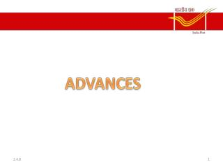 ADVANCES