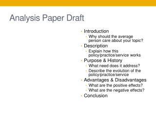 Analysis Paper Draft