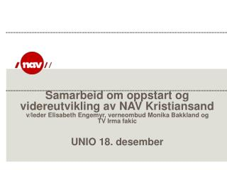 Gyldeng�rden NAV Kristiansand
