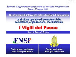 Federazione Nazionale della Stampa Italiana