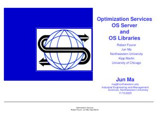 Optimization Services  OS Server  and  OS Libraries