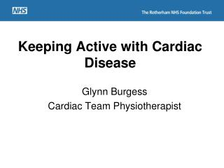 Keeping Active with Cardiac Disease