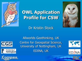 OWL Application  Profile for CSW