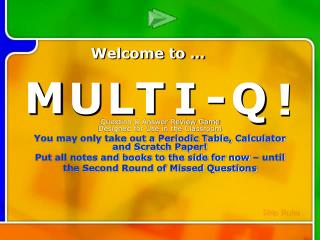 Multi-Q Introduction