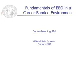 Fundamentals of EEO in a Career-Banded Environment