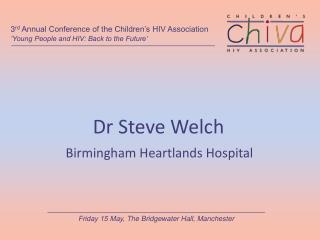 Dr Steve Welch