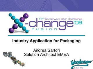Industry Application for Packaging