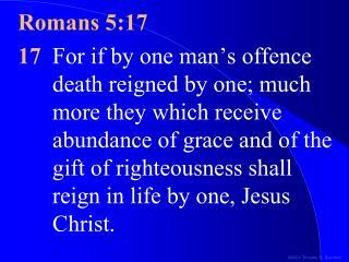 Romans 5:17