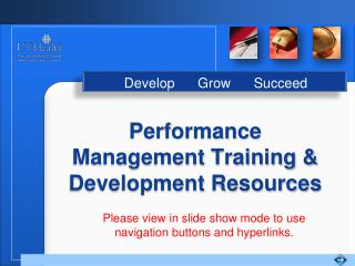 Performance Management Training  Development Resources