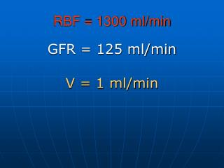 RBF = 1300 ml/min