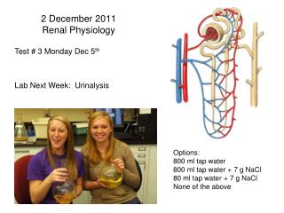 2 December 2011 Renal Physiology
