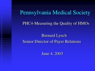 Pennsylvania Medical Society
