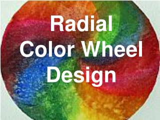 Radial  Color Wheel Design