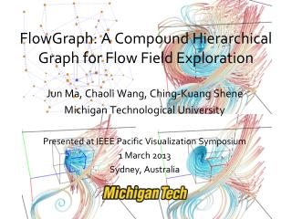 FlowGraph: A Compound Hierarchical Graph for Flow Field Exploration