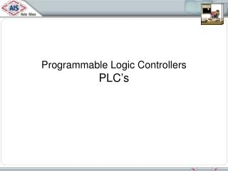 Programmable Logic Controllers PLC�s