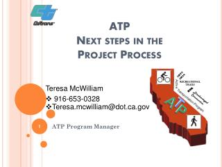 ATP Next steps in the Project Process