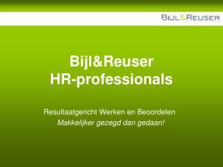 Bijl&Reuser HR-professionals