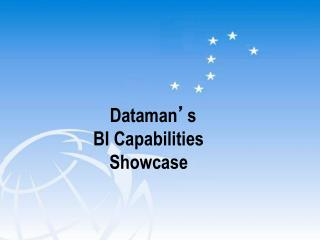 Dataman ' s  BI Capabilities  Showcase