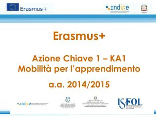 Erasmus+ Azione Chiave 1 – KA1 Mobilità per l'apprendimento a.a. 2014/2015
