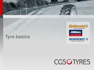 Tyre basics