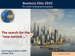 The Global Business Elite in 2009