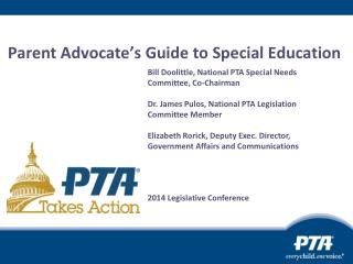 Parent Advocate�s Guide to Special Education�