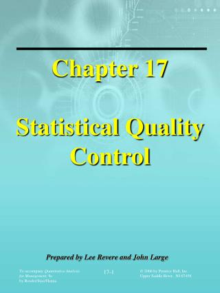 To accompany Quantitative Analysis for Management, 9e  by Render