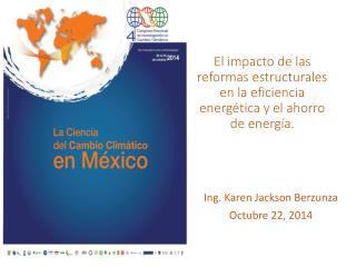El impacto de las reformas estructurales en la eficiencia energética y el ahorro de energía.