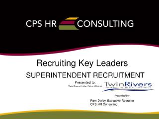 Recruiting Key Leaders
