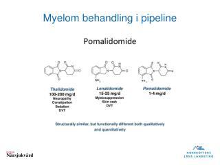 Myelom  behandling i pipeline