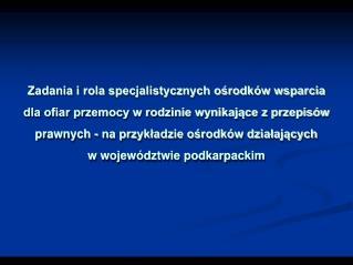 Do zadań z zakresu administracji rządowej realizowanych przez powiat należą: