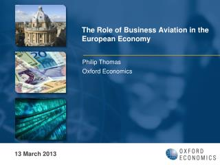 The Role of Business Aviation in the European Economy