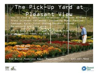 The Pick-Up Yard at Pleasant View