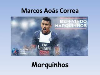 Marcos  Aoás  Correa