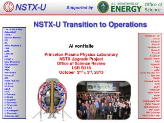 NSTX-U Transition to Operations