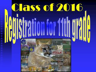 Registration for 11th grade