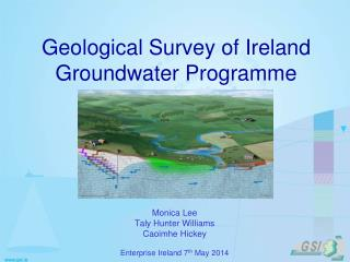 Geological Survey of Ireland Groundwater Programme