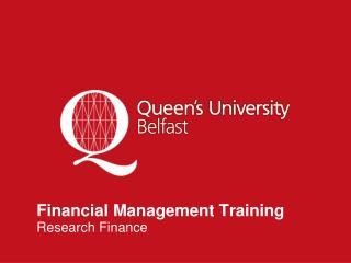 Financial Management Training Research Finance