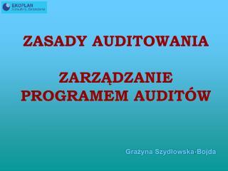 Grażyna Szydłowska-Bojda
