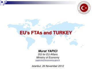 EU � s FTAs and TURKEY
