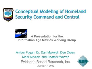 Conceptual Modeling of Homeland Security Command and Control