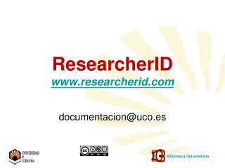 ResearcherID  researcherid