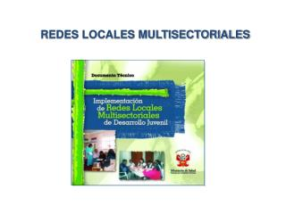 REDES LOCALES MULTISECTORIALES