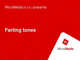 Farting tones