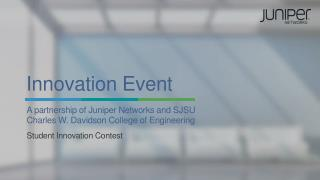 Innovation Event