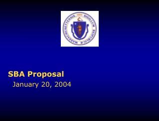 SBA Proposal
